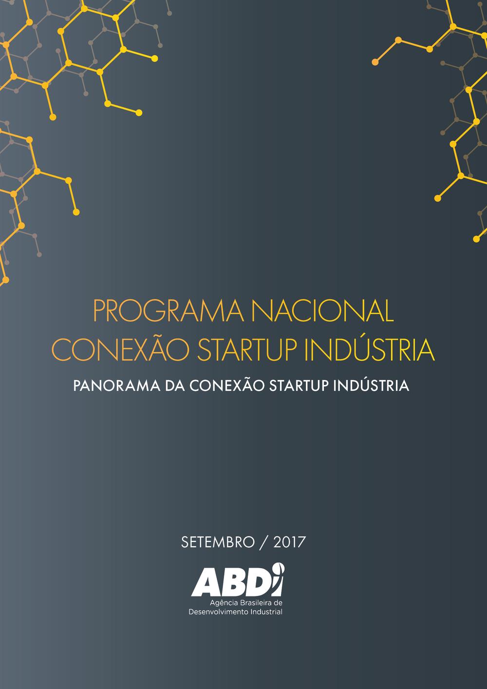 Relatório - Panorama da Conexão Startup Indústria