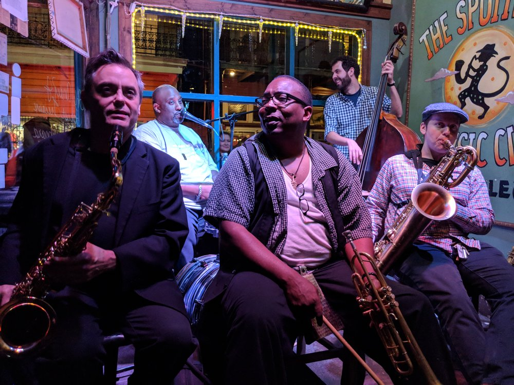 new-orleans-catahoulas-rnb-rhythm-blues-band-music-spotted-cat-earl-oliver-bonie-sax-kevin-louis-trumpet