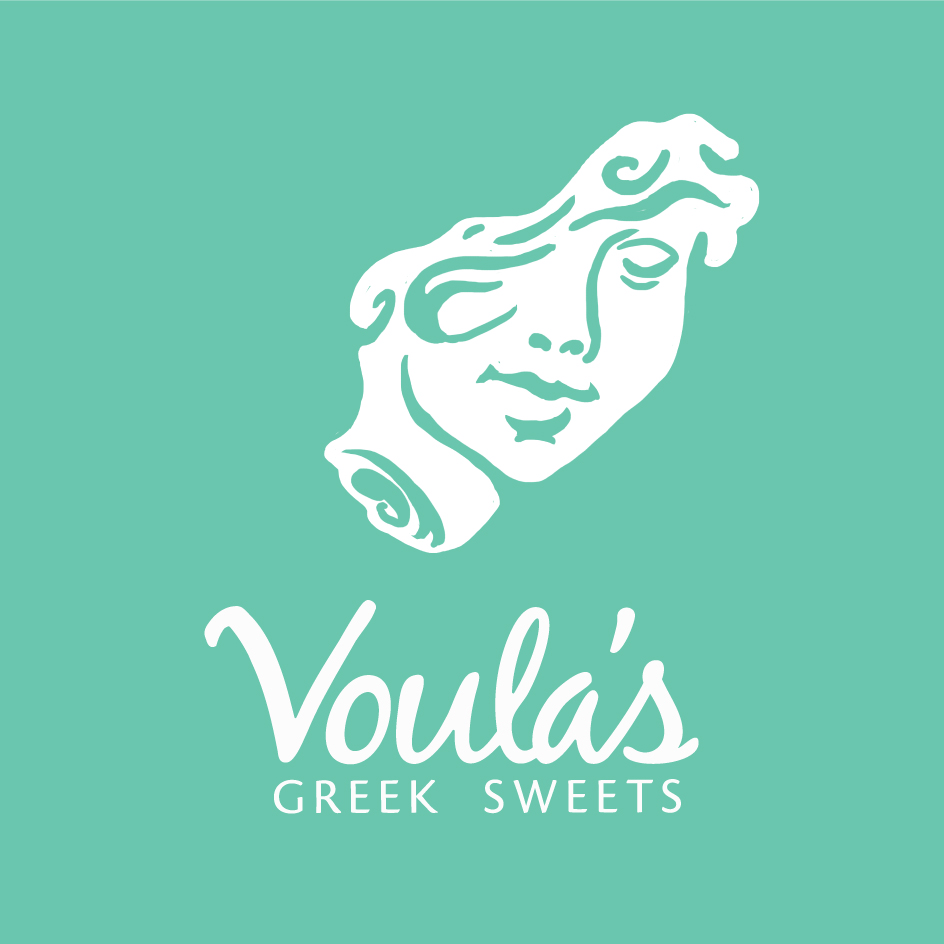 VOULA'S GREEK SWEETS Branding, Web, Packaging