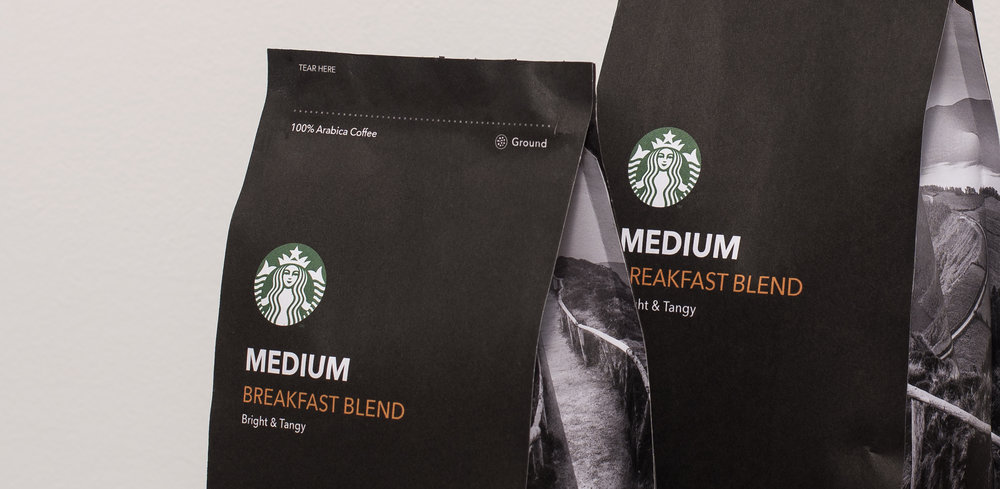 STARBUCKS COFFEE   Packaging & Art Direction