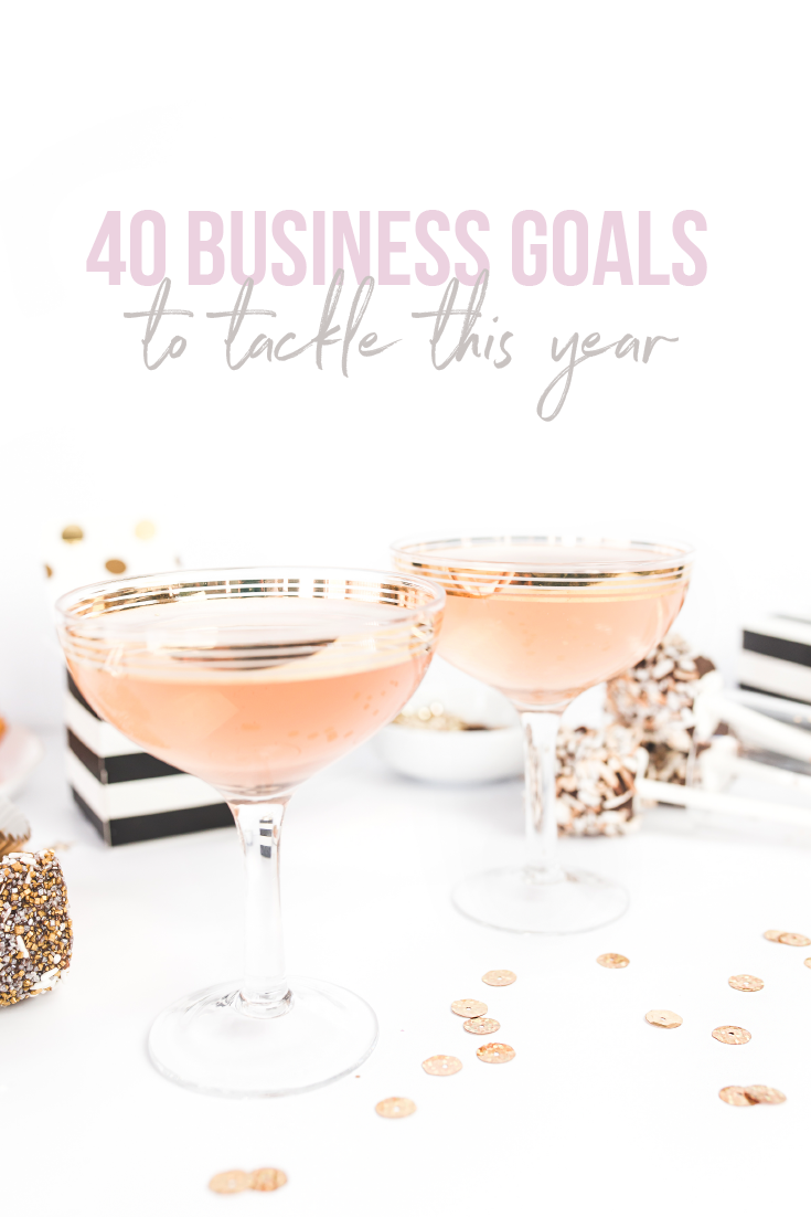 2017 is nearly here, which means it time to make some goals! Most of us love a good resolution, but it can be easy to find ourselves totally overwhelmed. Here are 40 ideas to get the wheels spinning about how to tackle the new year!   Before you pop that champagne, make a plan and write it down. I have a feeling that you are going to do amazing things this year.  - Jessica Romero