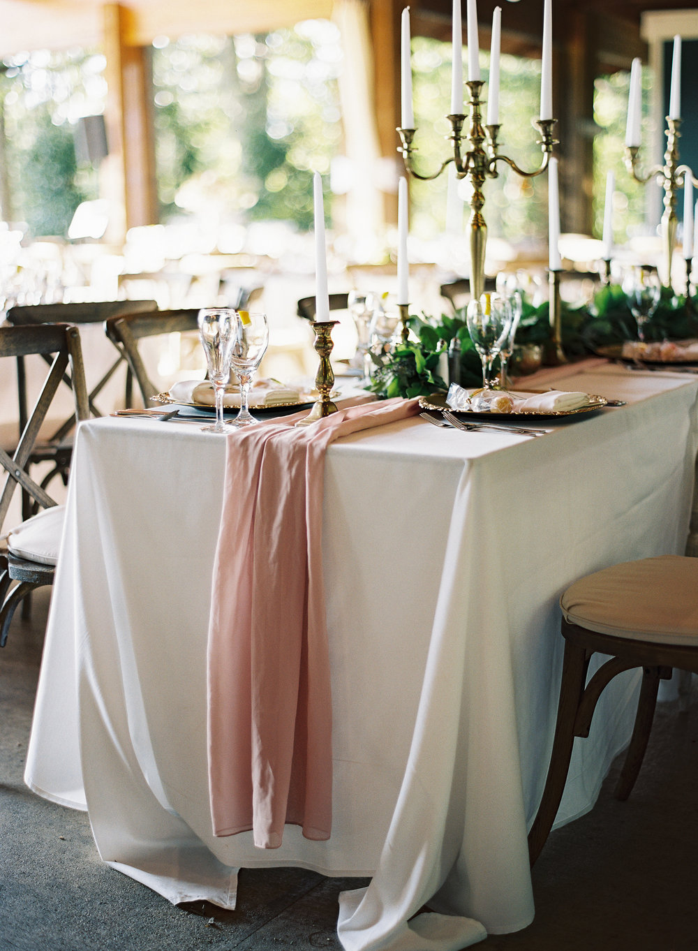 Chiffon Table Runners (Multiple Colors)