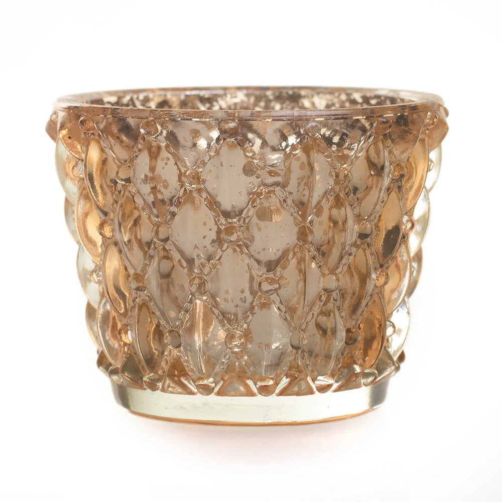 Gold & Glass Votive