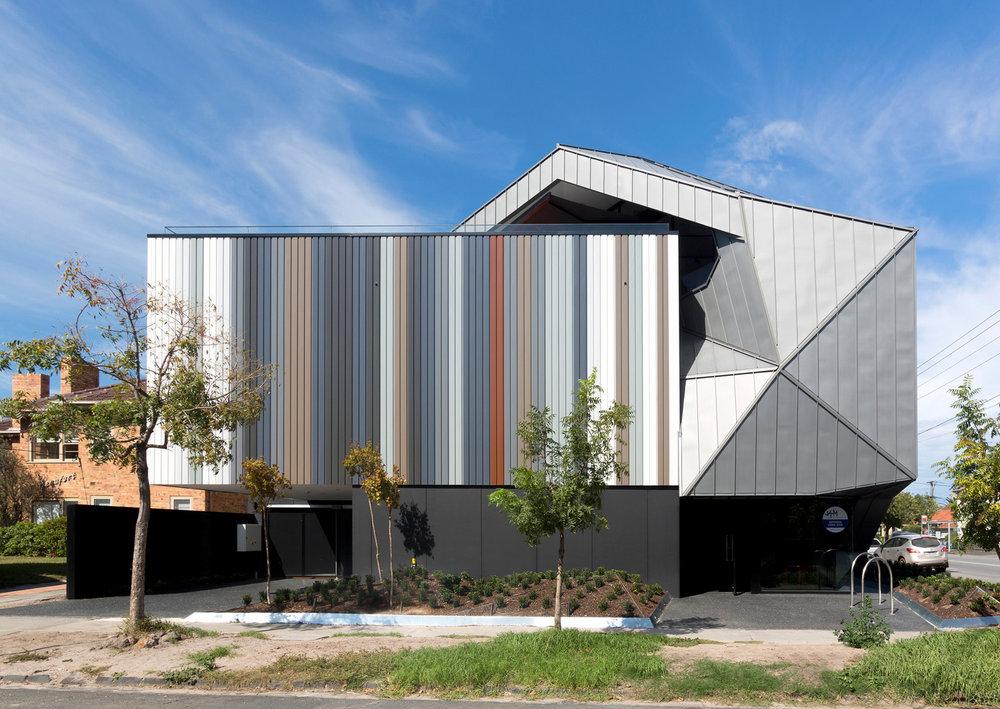 Suburban awnings // Building façade // Justin Art House Museum // Melbourne // 2016