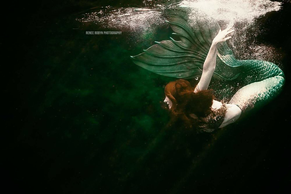 Catalina Mermaid Green Tail by Renee Robyn Photography.JPG