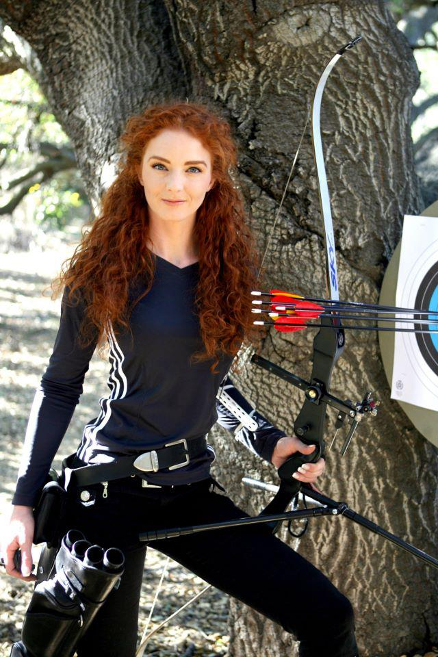 Virginia Hankins Archery Coach Los Angeles