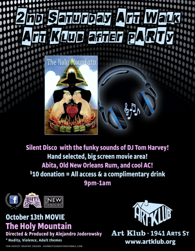 Art Klub after PARTY Silent Disco Movie Night.png