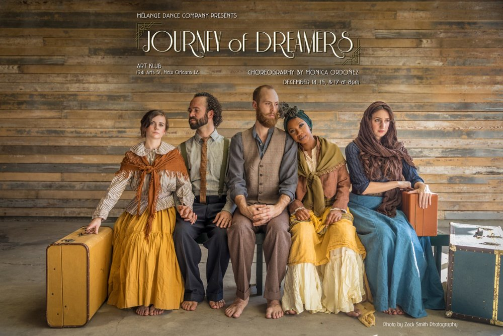 Journey of Dreamers - Mélange Dance Company, choreography by Monica OrdoñezContemporary Dance Performance