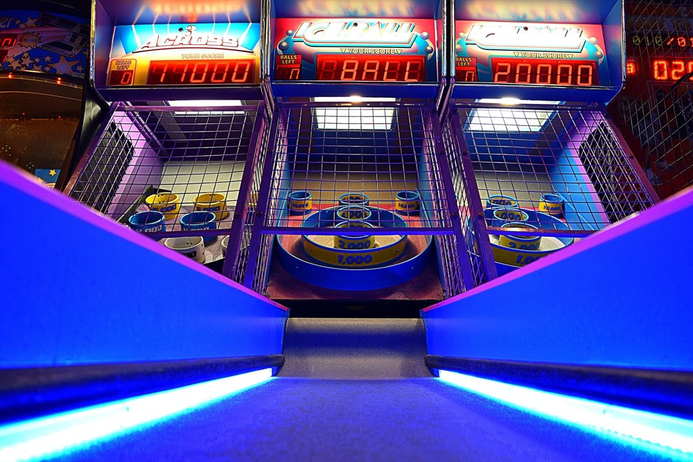 GAME ROOM: IT'S TIME TO PLAY - From shuffleboard, pop-a-shot and the classics to the new Walking Dead arcade game and pinball, we have plenty of options to keep you entertained. CLICK TO VIEW A FULL LIST OF OUR GAMES