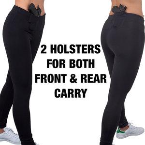 3ea2e4c1b1cd0 PRE-ORDER Undertech UnderCover Yoga Pants — Women Protection Services
