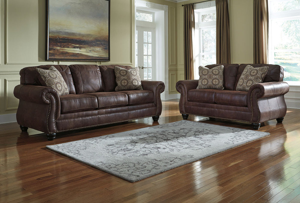BREVILLE ESPRESSO SOFA/LOVE COMBO REG $2,349 SALE 40% OFF $1,409.40