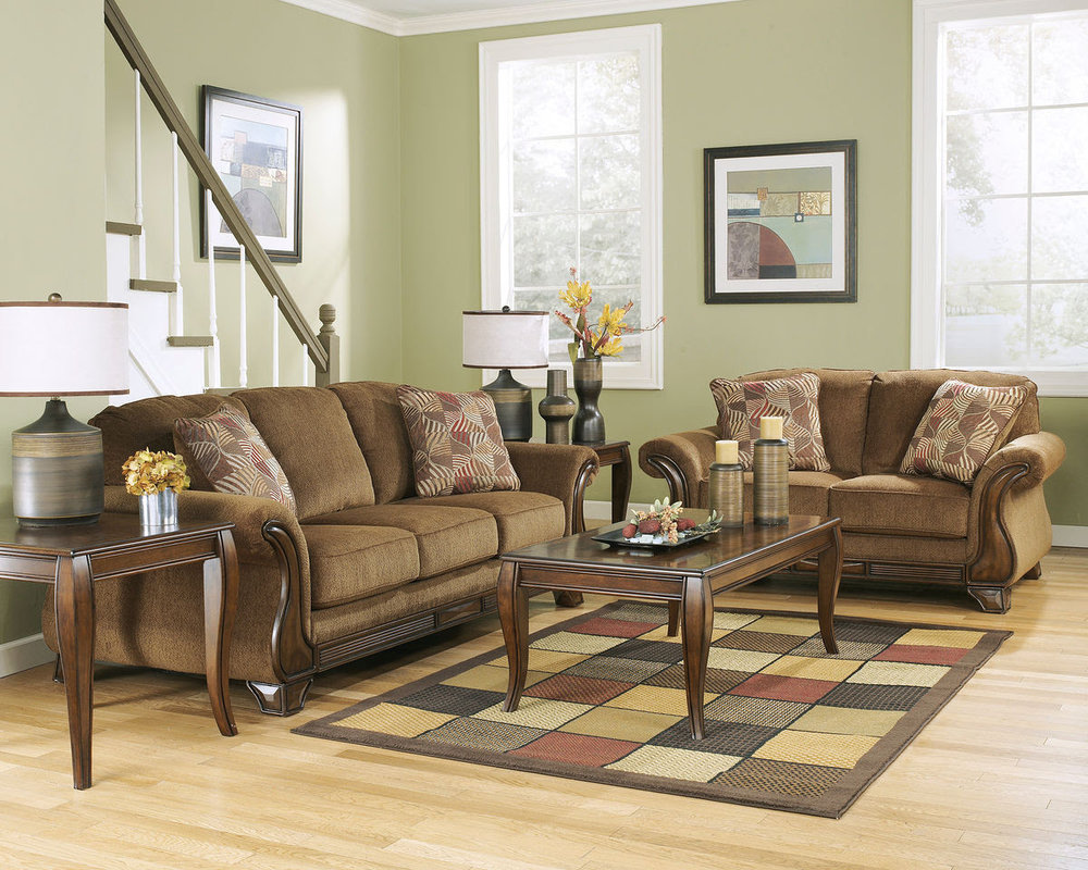 MONTGOMERY MOCHA SOFA/LOVE REG $1,719 SALE 40% OFF $1,031.40