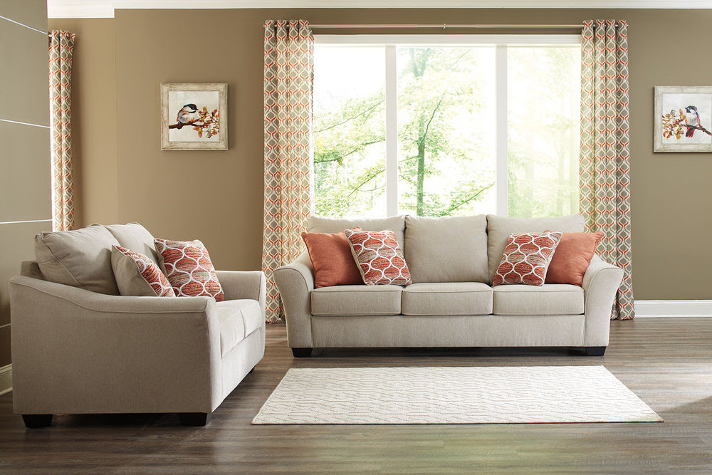 LISLE NUVELLA SOFA/LOVE REG $2,019 SALE 40% OFF $1,211.40