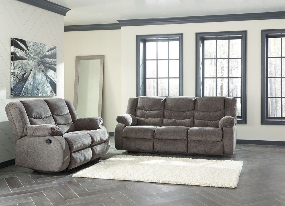 TULEN GRAY SOFA/LOVE REG $2,299 SALE 40% OFF $1,379.40