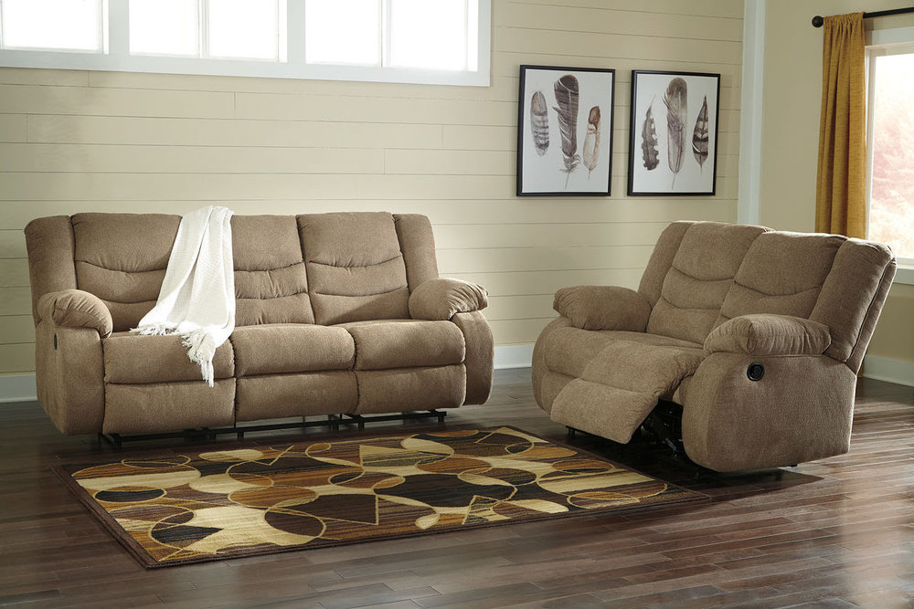 TULEN MOCHA SOFA/LOVE REG $2,299 SALE 40% OFF $1,379.40