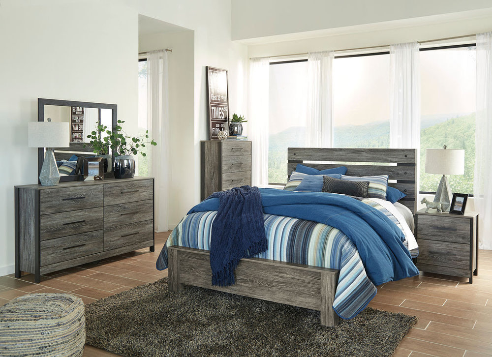 CAZENFELD 6PC BEDROOM COLLECTION REG $1,639 NOW $799