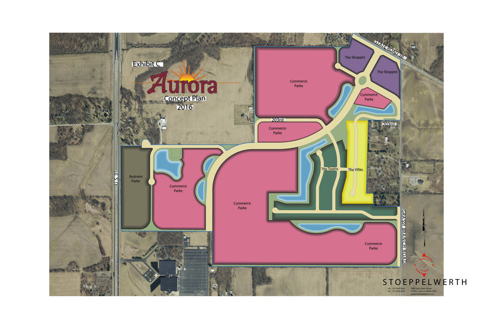 Aurora PUD is a large commercial/industrial/retail project that will have a negative impact on all surrounding homeowners and property. The impact will include damage to property values, heavier traffic, light/noise pollution as well as being an eyesore. We believe this real estate would be better suited for single family residential neighborhoods that compliment the existing residential properties as well as the recently developed residential.