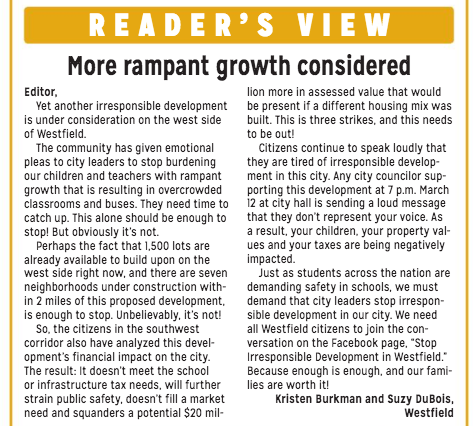 Reader View Westfield Current. https://issuu.com/currentpublishing/docs/ciw_030618_final