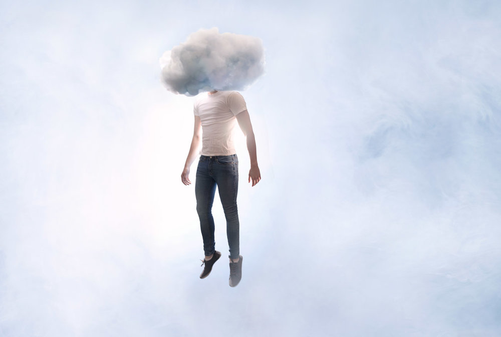 Head in the clouds - brand campaign 2015 with Alex Stoddard