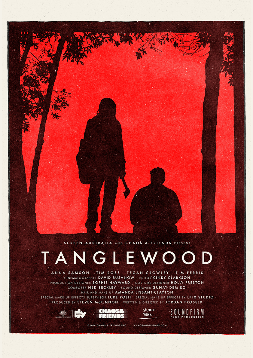 Poster for Horror film - Tanglewood