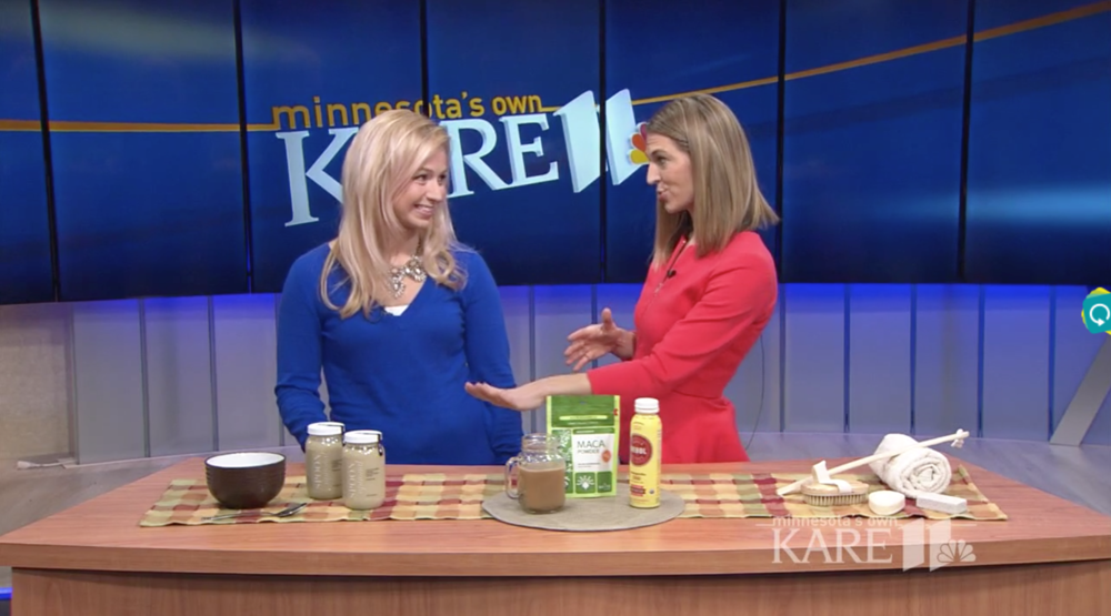 Kare 11 News Wellness Trends in 2017 with Sarah Carlson of Housewives of MN | Spoon Optional Sippable Soup
