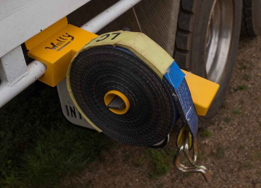 Wind a 12m Strap in under 12 seconds