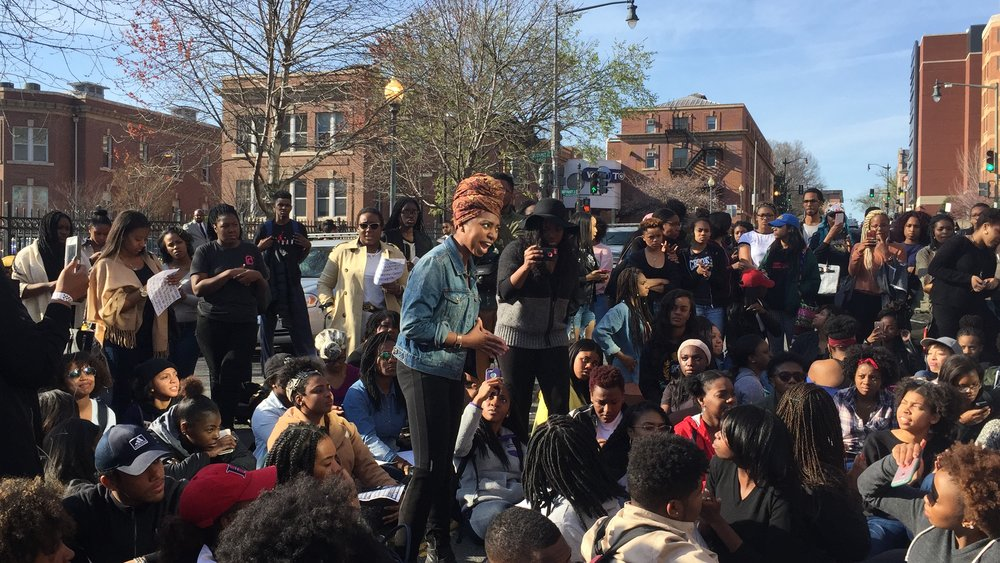 #TakeBackHU - Campus Sexual Assault Protest