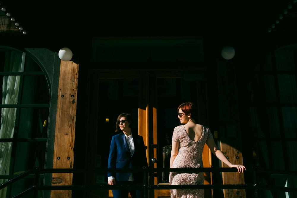Luisa + Sarah | Atrium @ The Brooklyn Botanical Gardens | NYC U2014 OH, KARINA  PHOTOGRAPHY