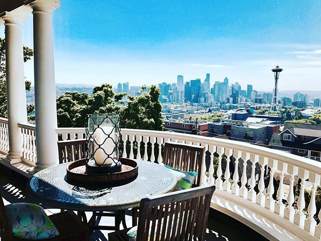 Another shot from this amazing listing on Queen Anne. It could be yours for 7.8 Million doll hairs !  #windermere #realestate #seattle #dadjokes