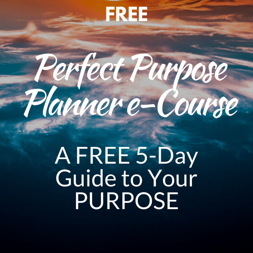 5-Day Perfect Purpose Planner