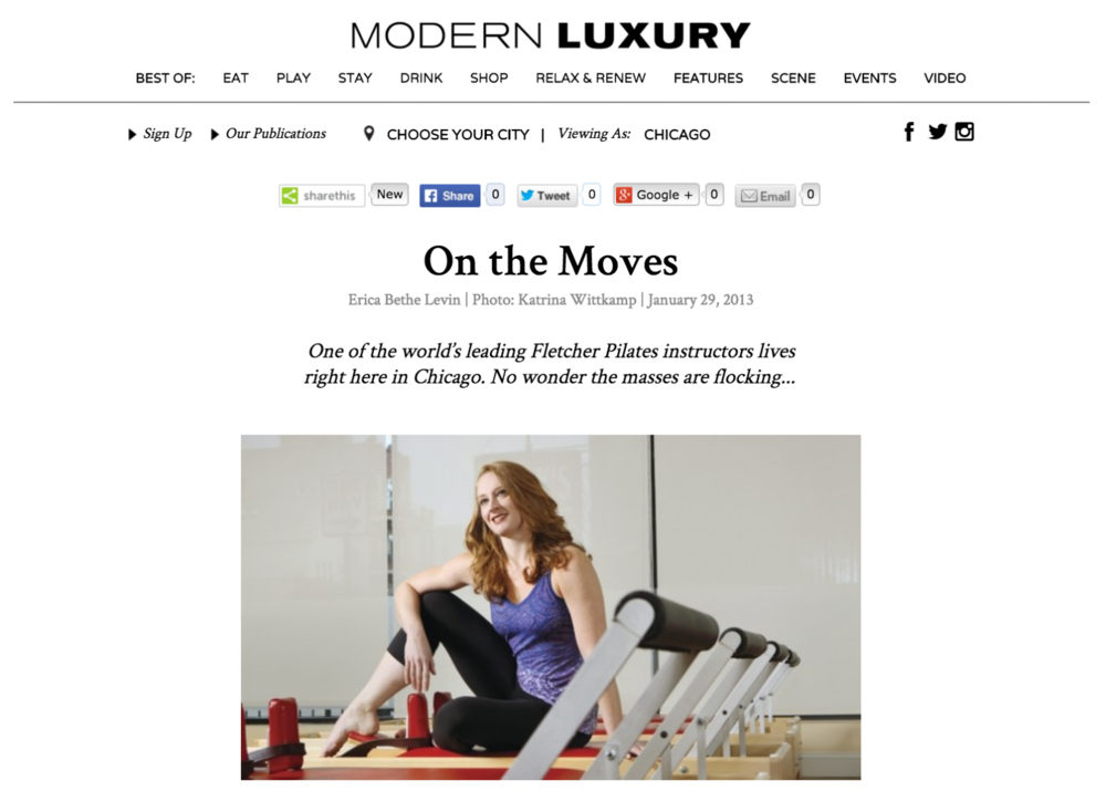 Erica Bethe Levin Modern Luxury
