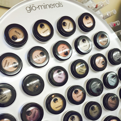 Glo-Minerals at Razzmatazz Hair Studio