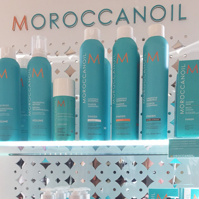 Moroccan Oil at Razzmatazz Hair Studio