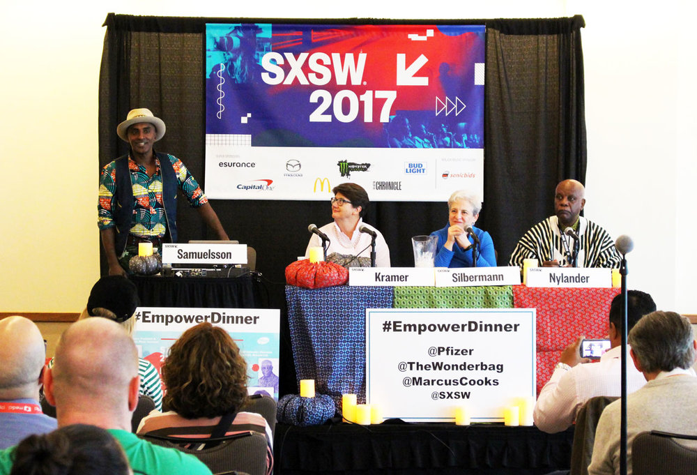 Marcus Samuelsson leads our EmpoweringDinner panel at SXSW