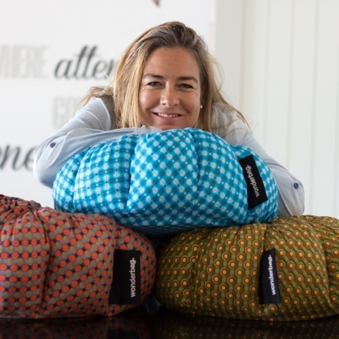 Sarah Collins, The founder of wonderbag