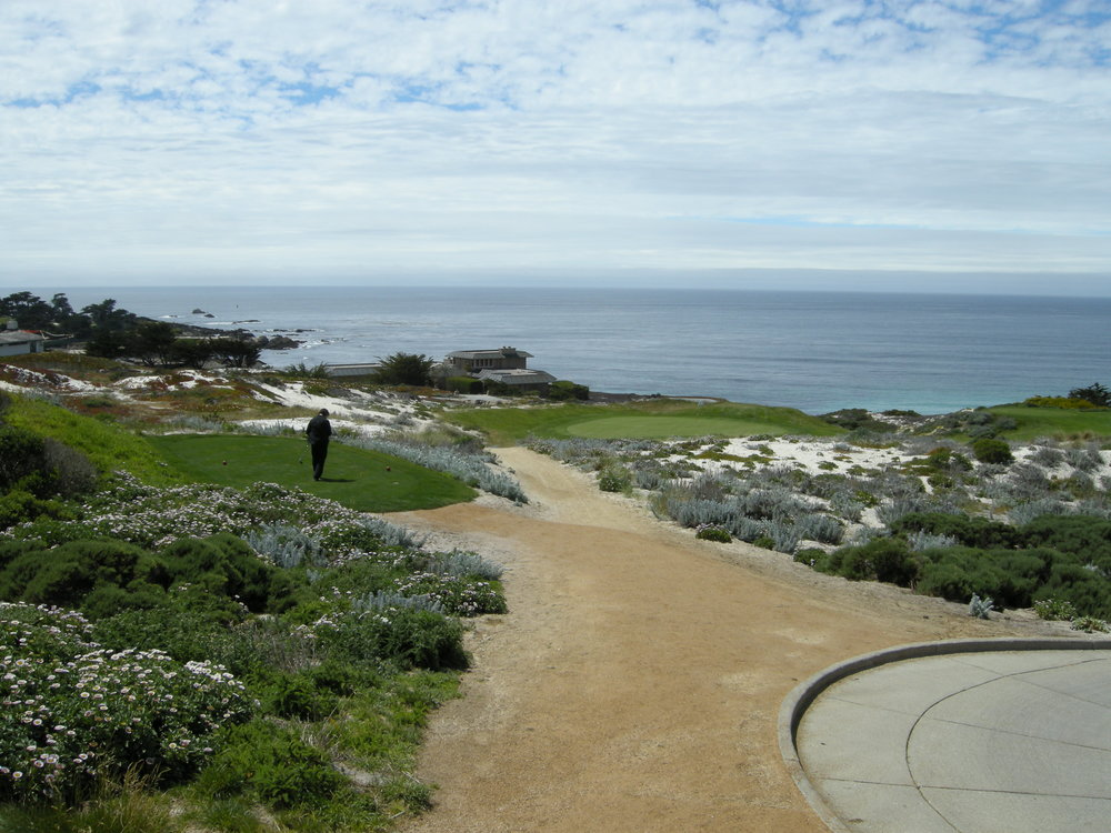 Happiness with Work Life Balance  SpyGlass Golf Course, Pebble Beach, California
