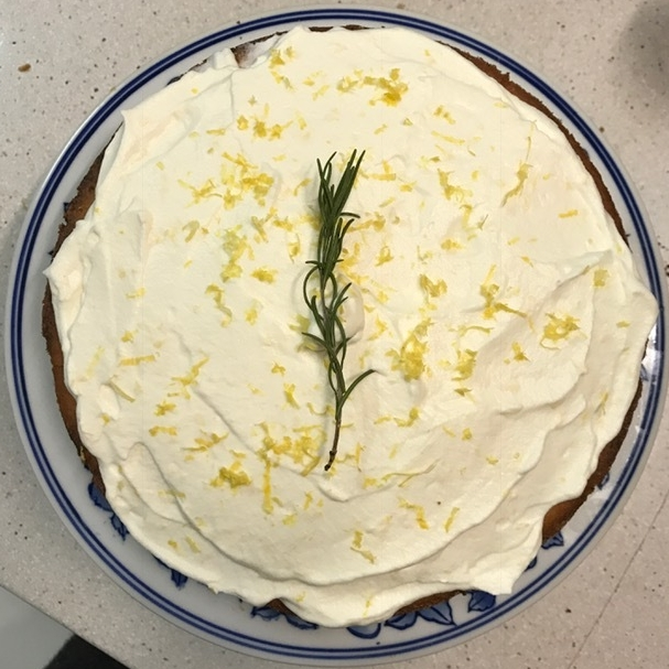 Earl Grey, Lavender, and Vanilla Cake layered with Lemon Zest ...