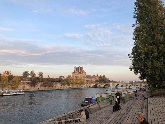 "Reading ""Far From The Madding Crowd"" on Lafayette (and in @lafayette380) in my city, listening to Ella Fitzgerald softly warble through the speakers of this very New York cafe that is technically French, and daydreaming. #Seine #Parisianvista #MuseeDOrsay #Louvre #November #Daydreams #Travel #NewYorker #allmyhappyplaces"