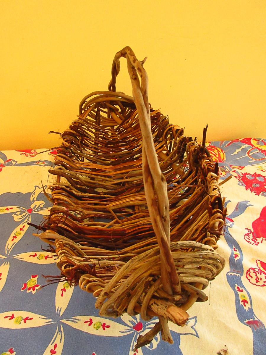 Cedar root basket
