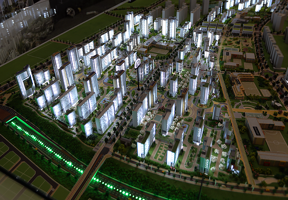 LH Sejong P1~P4 blocks integrated model