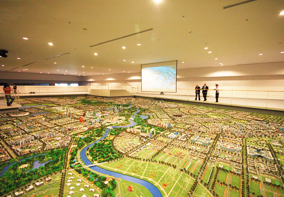 Kazahstan Astana   Urban Plan Model