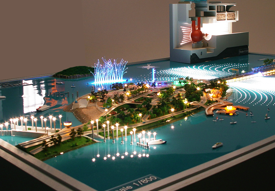 Sihwa Lake Tidal Power Station Modeling