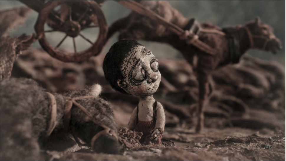 StopTrik IFF Festival Director Special Mention - Dead Horses/ Cavalls morts, dir. Marc Riba, Anna Solanas, prod. I+G Stop Motion, 2016, Spain, 6'15''