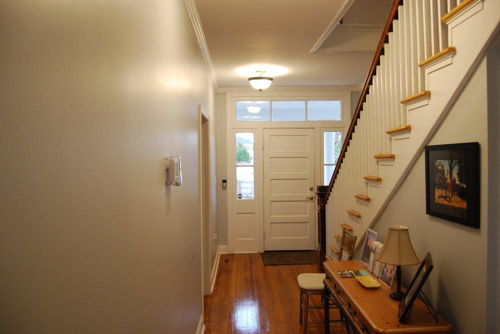 downstairs hallway from back door.JPG