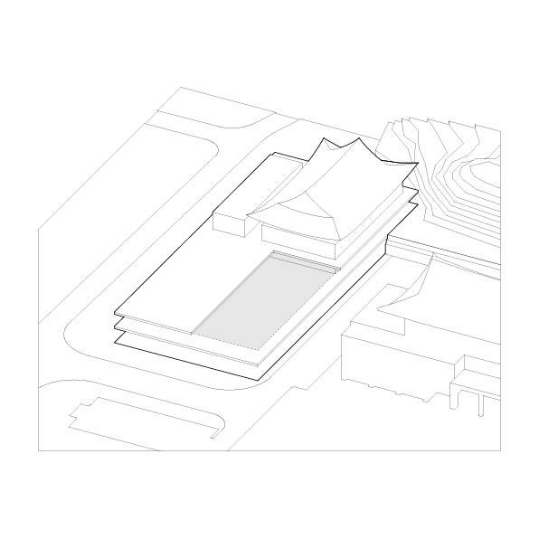 3. 연결을 위한 비움 군청사 단지 배치의 조화를 고려, 비움을 통한 매개공간 형성