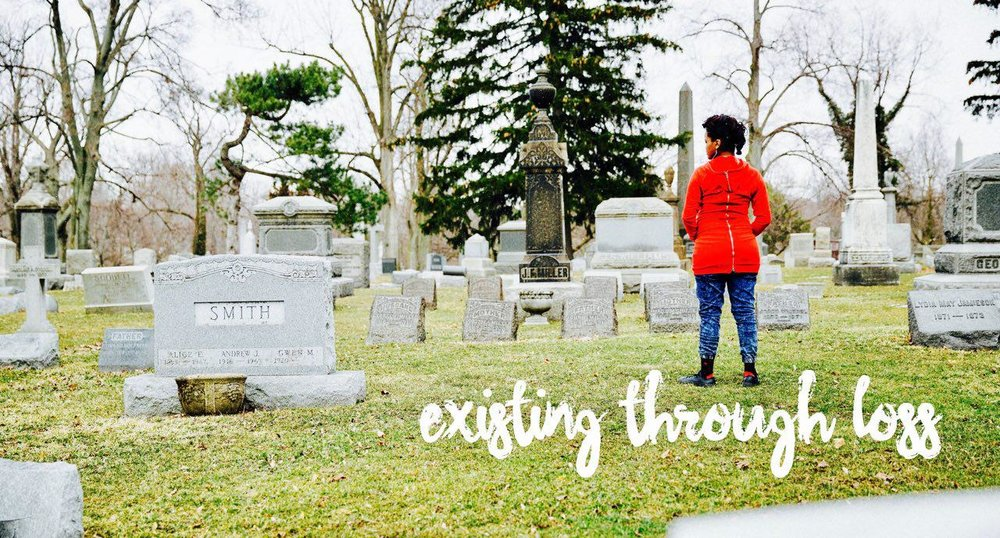 Though my biological mother's death happened when I was 3 years old I just recently began to mourn. I realized that mourning had nothing to do with the time frame in which loss occurred. Through my reflection, reading articles and books on grief I came up with 5 ways that I have been existing through loss.