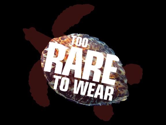 Hawksbill Threats — Too Rare To Wear