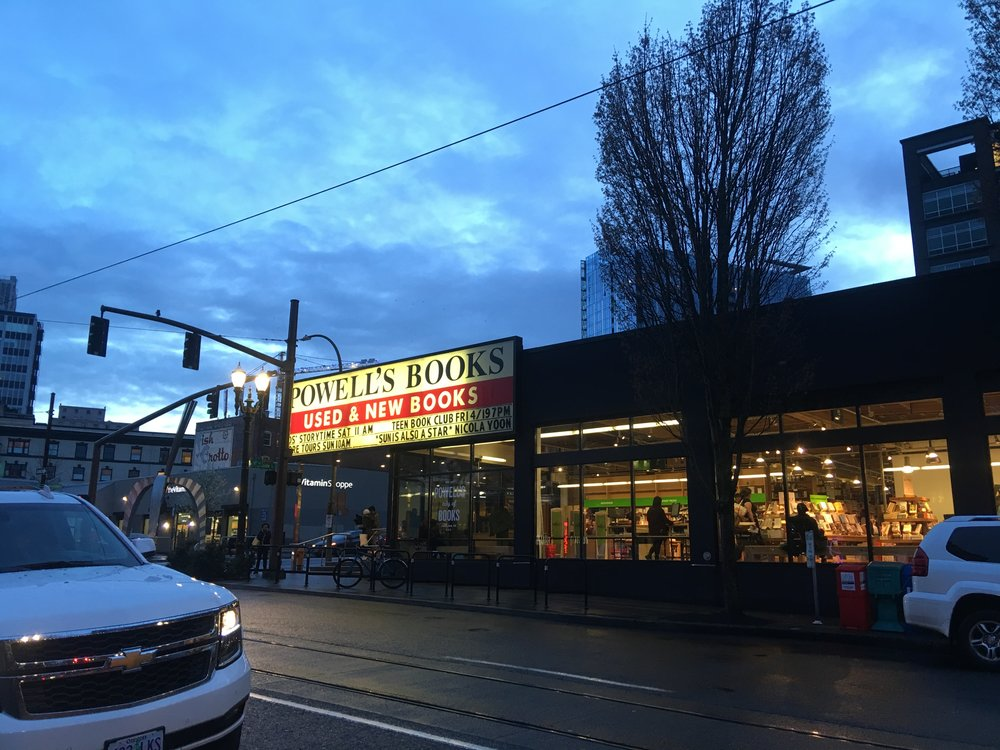 The biggest indie bookstore in the U.S. - we love Powell's!