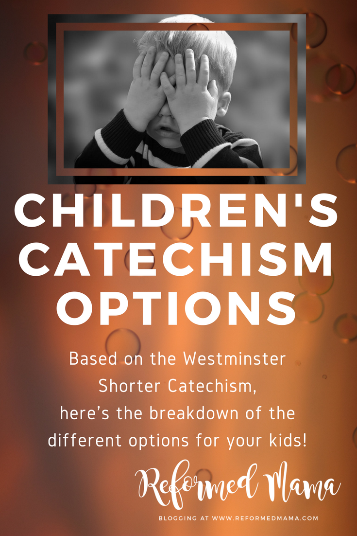Children's Catechism Differences Explained Based on Westminster Shorter Catechism Also Called Catechism for Kids or Young People or First Catechism