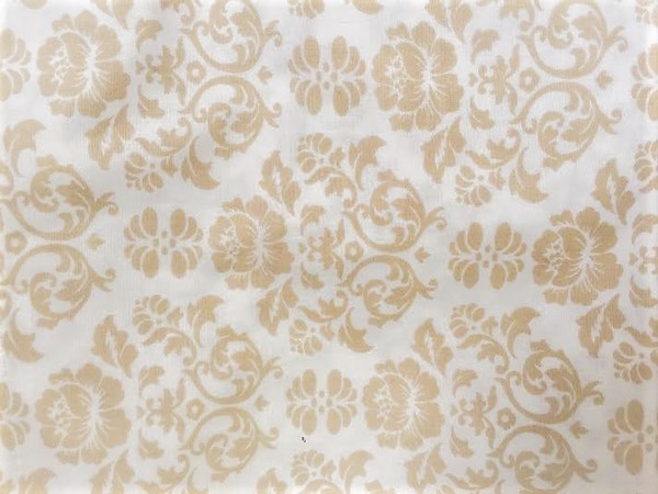 #9 LIGHT BEIGE FLORAL